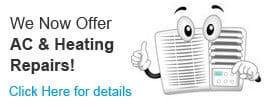 AC & Heating Repairs
