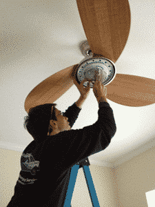 Ceiling fan installation in durham nc durham volt doctor ceiling fan installation in durham nc mozeypictures Images