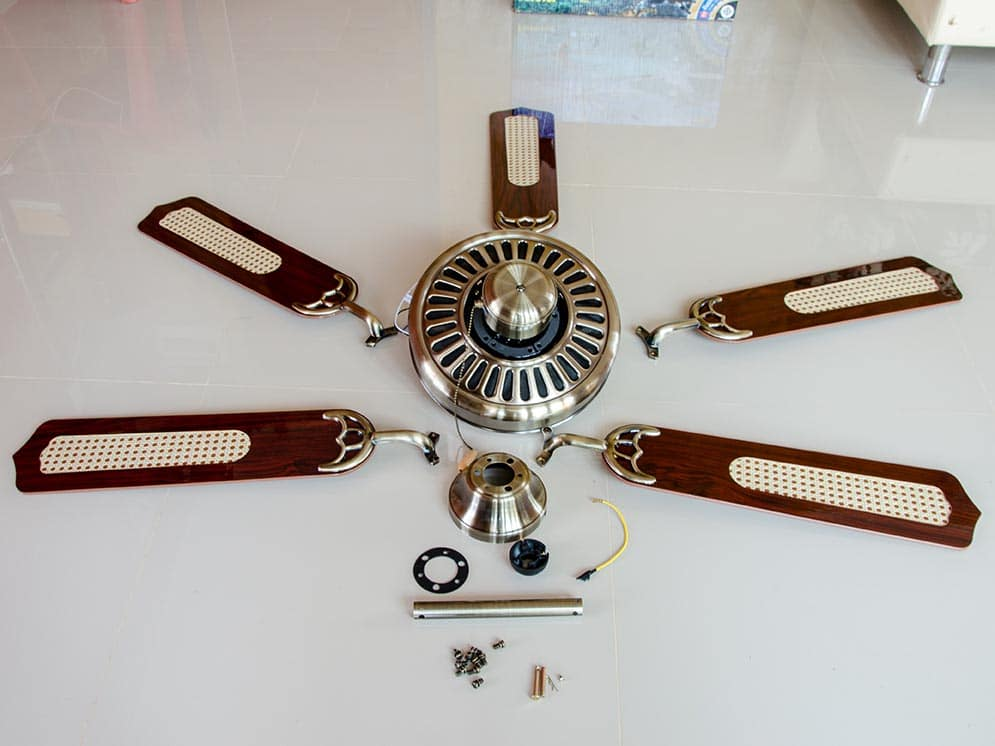Ceiling fan electrical repair image