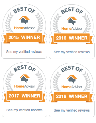 Best of HomeAdvisor 2015 | 2016 | 2017 | 2018