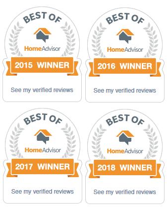 Best of HomeAdvisor 2015 | 2016 | 2017 | 2018
